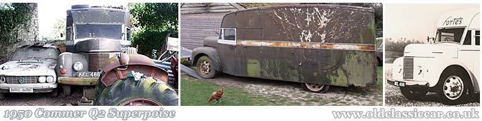 The Commer Superpoise restoration project