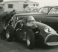 Connaught A-Type racing car