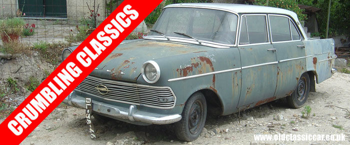 A 1950s Opel that needs urgent rescue
