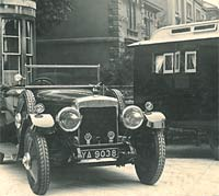 Daimler with the Eccles