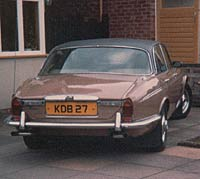 Rear view of Daimler Double Six Series 2