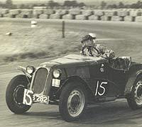 Racing as car number 15