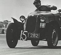On a racing circuit