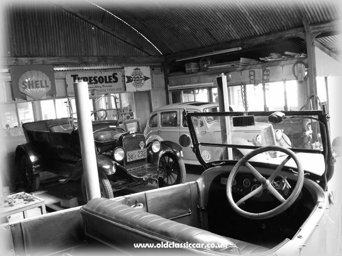 Garage in the late 1940s?