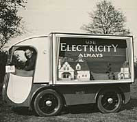 1930s delivery van / promotional vehicle