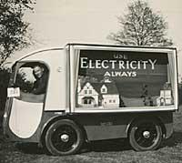 1930s delivery van / promotional vehicle