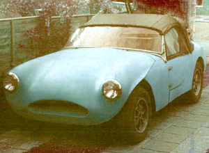 Electron Minor car with Triumph engine