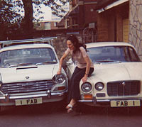 Cars registered FAB 1 and 1 FAB