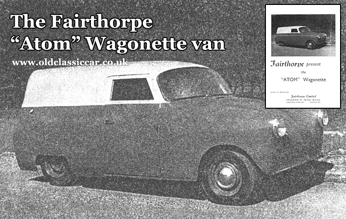 Old picture of a Fairthorpe Wagonette