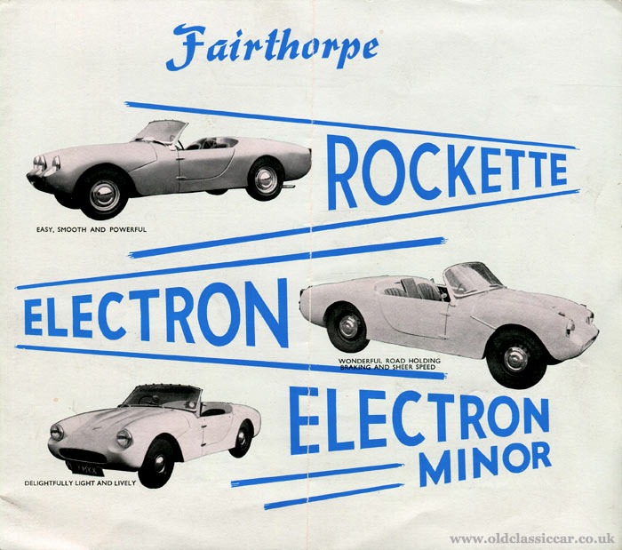 Fairthorpe Electron, Electron Minor and Rockette