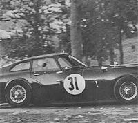 Fastback GT racing car