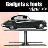 Gadgets for the motorist and garage owner