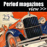 Vehicle magazines 1900s to 1970s