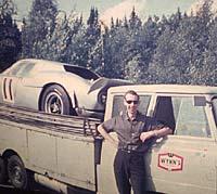 Ferrari 250LM & transporter
