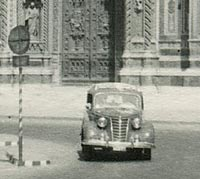 A Fiat in Florence, Italy