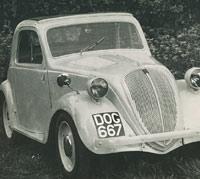1937 Topolino, restored