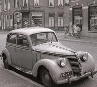 Fiat 1500C in Utrecht 1958