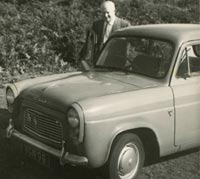 Front view of an Anglia