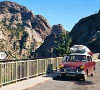 Photo of a 1964 Anglia in Spain