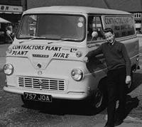 1963 Ford Thames 400E van