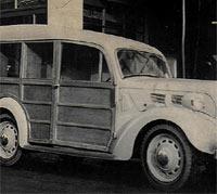 Coachbuilt Ford 7W estate car