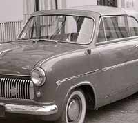 Ford Consul Mk1 Convertible in 1958