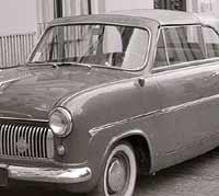 Ford Consul Mk1 Convertible in 1958