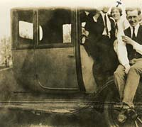 Early Ford Coupe, seen in 1925