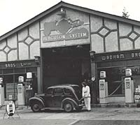Wadham Brothers garage