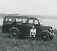 Pre-war E83W van