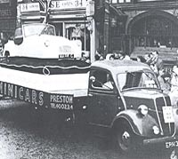 Ford E83W artic lorry