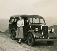 1939 Ford E83W Van - front view
