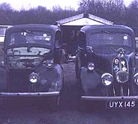 Two modified Ford Pops