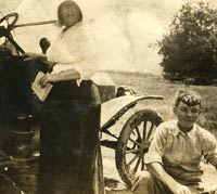 An early Model T Ford