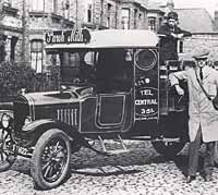 Ford TT Puroh milk delivery lorry