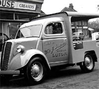 Ford E83W milk float