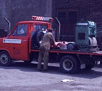 Ford Transit flatbed photo