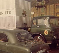 Bedford TK lorry and a Ford
