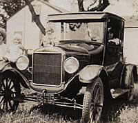 1926 Ford Model T Coupe in Australia
