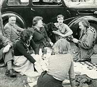 Ford 7Y on a picnic