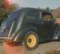 Ford Pop 103E with wide wheels