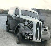 Ford Thames E494C van, 1953