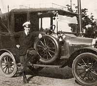 Model T Ford taxi in Warrington