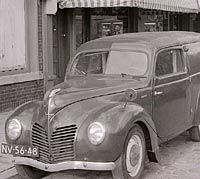 Ford Buckeltaunus van