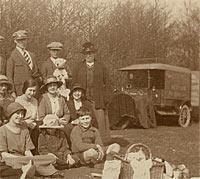 Model T Van in Birling, Kent