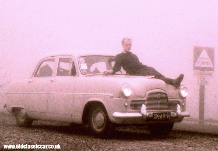 The same Ford Zephyr Six, in 1961