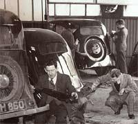 Workshop scene, late 1940s