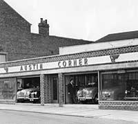 The Austin Corner garage