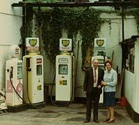 BP petrol pumps