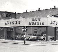 1950s Austin garage
